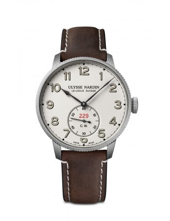 Copie Ulysse Nardin Marine Torpilleur Military White 1183320LE/60