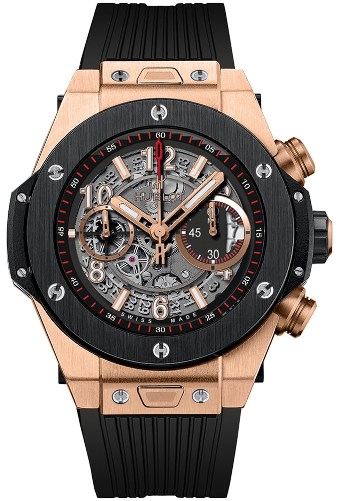Replique Hublot Big Bang Unico King Gold Ceramic 411.OM.1180.RX