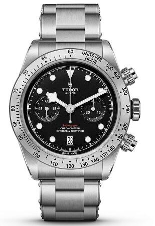 Replique Montre Tudor Heritage Black Bay Chronographe 41mm 79350-0001