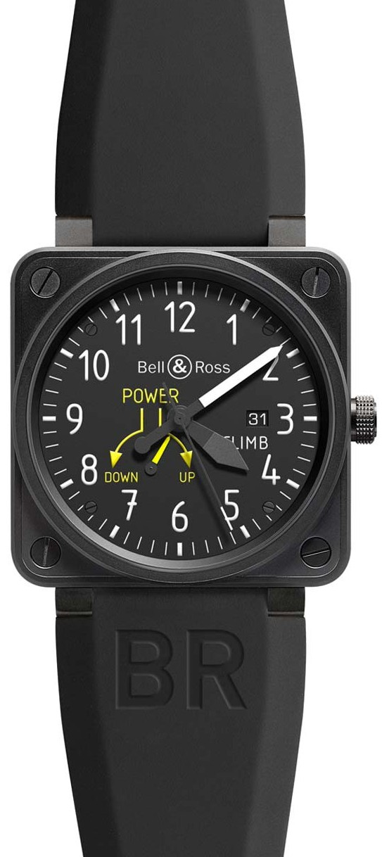 Copie Bell & Ross Aviation BR-01-97-CLIMB automatique