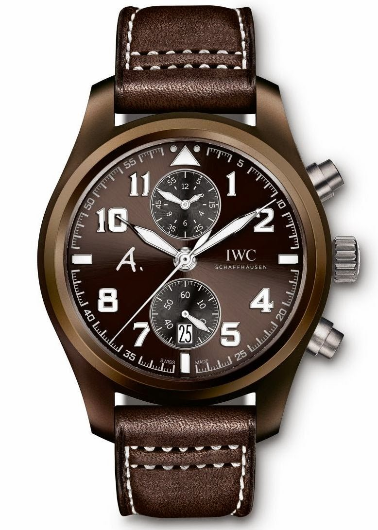 IWC Pilot Chronographe EditionThe Last Flight IW388004 Replique