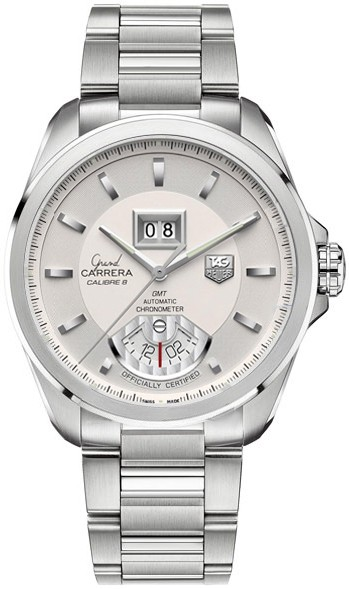 Replique Tag Heuer Grand Carrera Automatic GMT Grande Date de WAV5112.BA0901