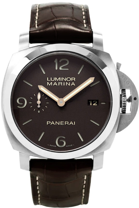 Replique Montre Panerai Luminor Marina 1950 3 Jours Automatique Titanio 44MM PAM00351