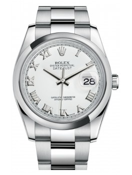 Replique Montre Rolex Oyster Perpetual Datejust 36 acier romain 116200-0055
