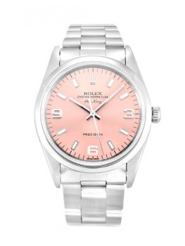 Replique Montre Rolex Air-King Rose Trimestre Arabe Unisexe 14000