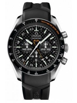 Replique Montre Omega Speedmaster Specialities HB-SIA Co-Axial GMT Chronographe 321.92.44.52.01.001