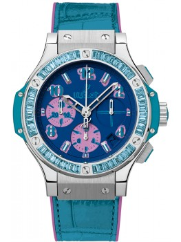 Replique Montre Hublot Big Bang Pop Art Bleu Acier 341.SL.5199.LR.1907.POP14