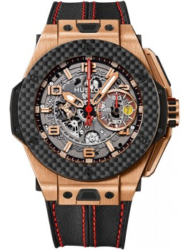 Replique Montre Hublot Big Bang Ferrari King Gold Carbon 401.OQ.0123.VR
