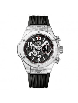Replique Montre Hublot Big Bang Unico Magic Sapphire 45MM 411.JX.1170.RX