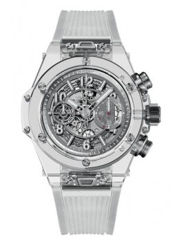 Replique Montre Hublot Big Bang Unico Sapphire 45mm 411.JX.4802.RT