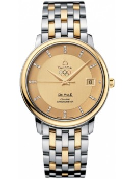 Replique Montre Omega Specialities Olympic Collection Or jaune on steel - gold 413.20.37.20.58.001