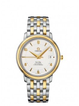 Replique Montre Omega De Ville Co-Axial Preige or jaune 4312.21.00