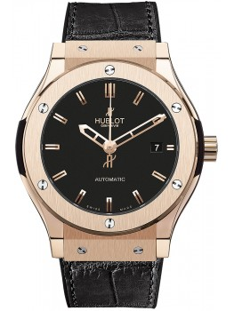 Replique Montre Hublot Classic Fusion King Gold 38mm 565.OX.1180.LR