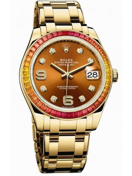 Replique Montre Rolex Oyster Perpetual Datejust Pearlmaster 39 86348 SAJOR-42748