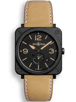 Replique Montre Bell & Ross Aviation BR S Heritage 39mm