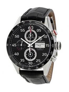 Replique Montre TAG Heuer Carrera Calibre 16 Day Date Automatique Chronographe 43 mm CV2A10.FC6235
