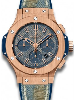 Replique Montre Hublot Big Bang Jeans d'or Homme 301.PL.2780.NR.JEANS