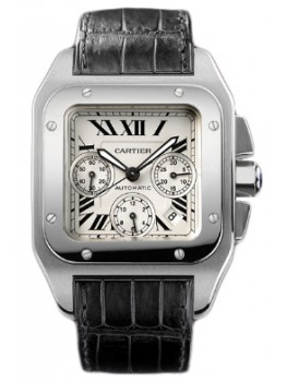 Replique Montre Cartier Santos 100 Chronographe Automatique W20090X8