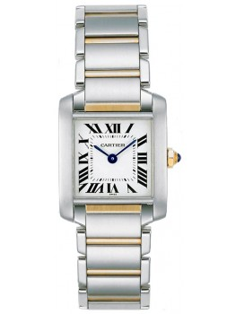 Replique Montre Cartier Tank Francaise Small Femmes W51007Q4