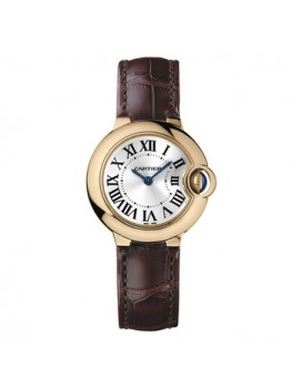 Replique Montre Cartier Ballon Bleu Petit Quartz Rose Or W6900256
