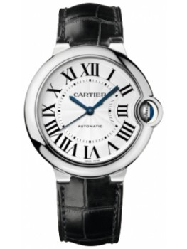 Replique Montre Cartier Ballon Bleu Moyen Automatique Or Blanc W6900556