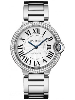 Replique Montre Cartier Ballon Bleu 36mm Or blanc WE9006Z3
