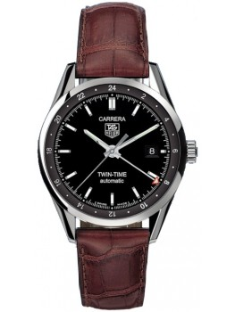 Replique Montre TAG Heuer Carrera Twin Time Hommes WV2115.FC6181