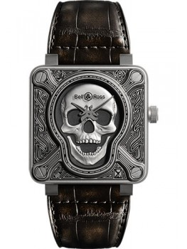 Replique Montre Bell & Ross BR 01-92 Automatique Burning Skull