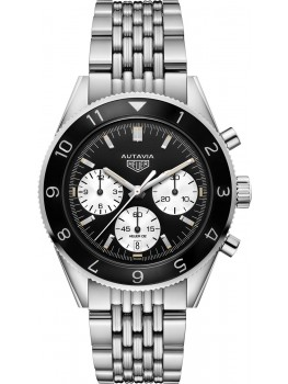 Replique Montre TAG Heuer Autavia Calibre Heuer 02 Chronographe automatique 42 mm CBE2100.BA0687