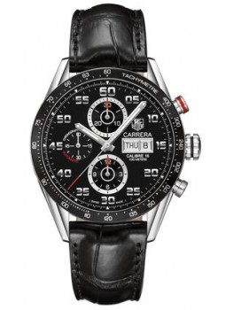 Replique Montre TAG Heuer Carrera Calibre 16 Jour-Date Automatique Chronographe 43 mm CV2A1R.FC6235