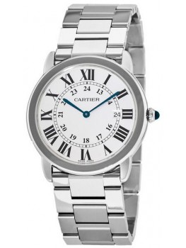 Replique Montre Cartier Ronde Solo Quartz 36mm Dames W6701005