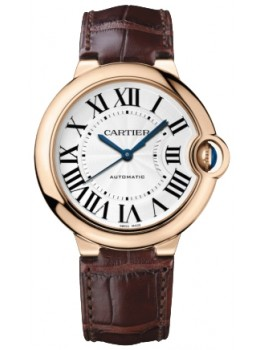 Replique Montre Cartier Ballon Bleu 36mm 18k or rose cadran argente W6900456