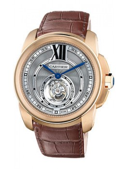 Replique Montre Cartier Calibre de Cartier Flying Tourbillon W7100002