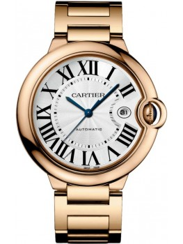 Replique Montre Cartier Ballon Bleu de Cartier 42 Or rose automatique WGBB0016