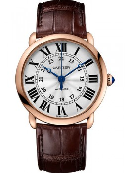 Replique Montre Cartier Ronde Louis Cartier 36mm Rose Or Dames WGRN0006