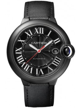 Replique Montre Cartier Ballon Bleu de Cartier Carbone 42 mm WSBB0015