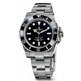 Replique Rolex Submariner ceramique Lunette 40mm Non Date 114060-97200