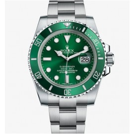 Replique Montre Rolex Submariner Date 116610LV-97200 Vert