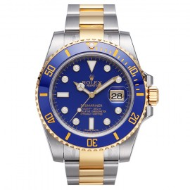 Rolex Submariner cadran bleu automatique 116613LB-97203  Replique