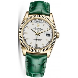 Replique Montre Rolex Day-Date 36 Jaune Or 118138-0123