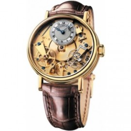 Breguet Tradition Hand Wound 37mm Or jaune 7027BA/11/9V6 Replique