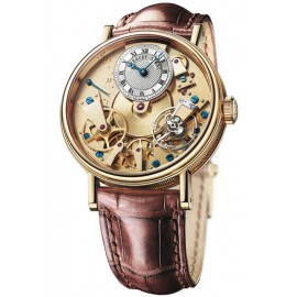 Breguet Tradition Automatique 38mm Or jaune 7037BA/11/9V6 Replique