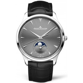 Replique Montre Jaeger-LeCoultre Master Ultra Thin Moon Or blanc 1363540