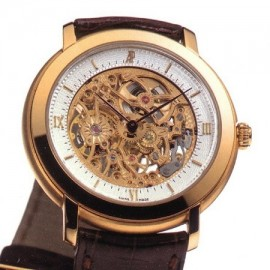 Replique Montre Audemars Piguet Jules Audemars Skeleton 15058OR.OO.A067CR.01