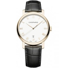 Replique Chopard Classic Rose Or Blanc Automatique 161278-5005