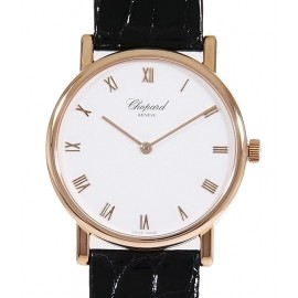 Replique Chopard Classic 18K Rose Or Dames 163154-5001