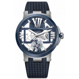 Replique Montre Ulysse Nardin Executive Dual Time Flying Tourbillon 1713-139/43