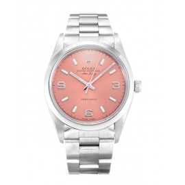 Copie Rolex Air-King Rose Trimestre Arabe Oyster Acier Unisexe 14000