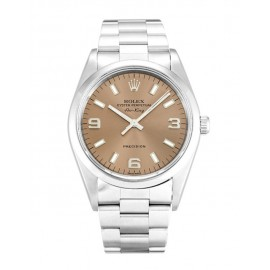 Copie Rolex Air-King Saumon Trimestre Arabe Unisexe 14000