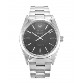 Copie Rolex Air-King Noir Cadran Unisexe 14000